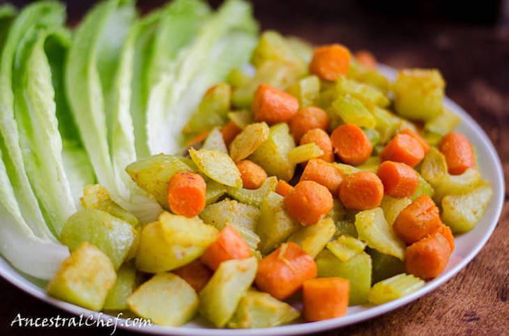 Chayote Squash Curry Saute