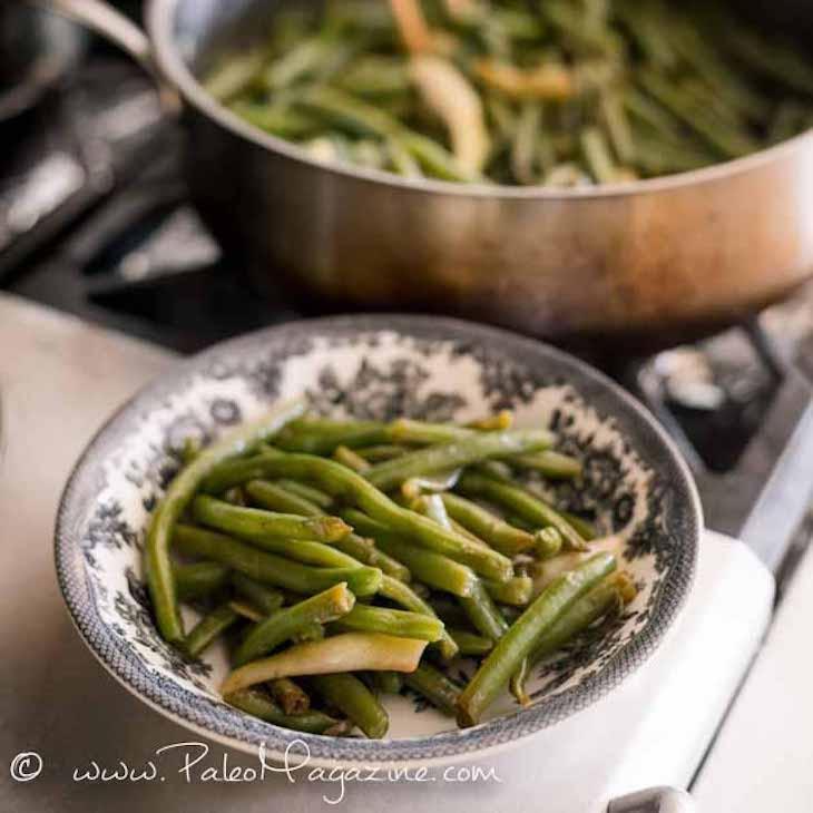 Easy Chinese Green Beans Stir-Fry