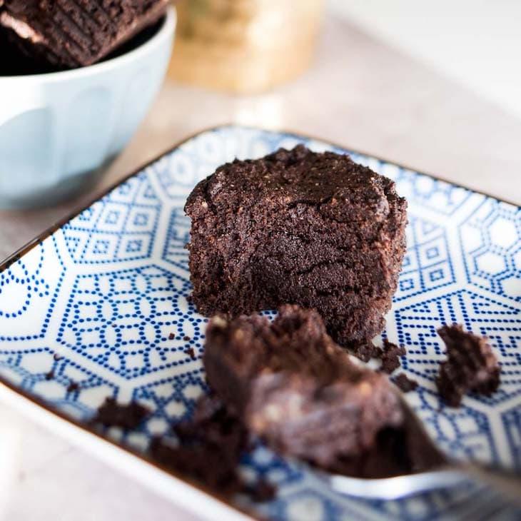 Keto Fudge Brownie Bites #recipe https://ketosummit.com/keto-fudge-brownie-bites
