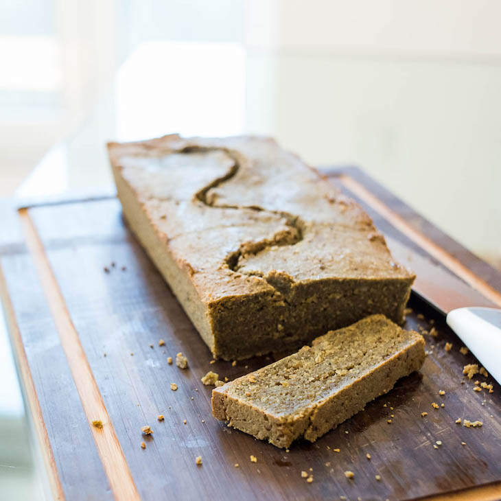 Keto Matcha Bread