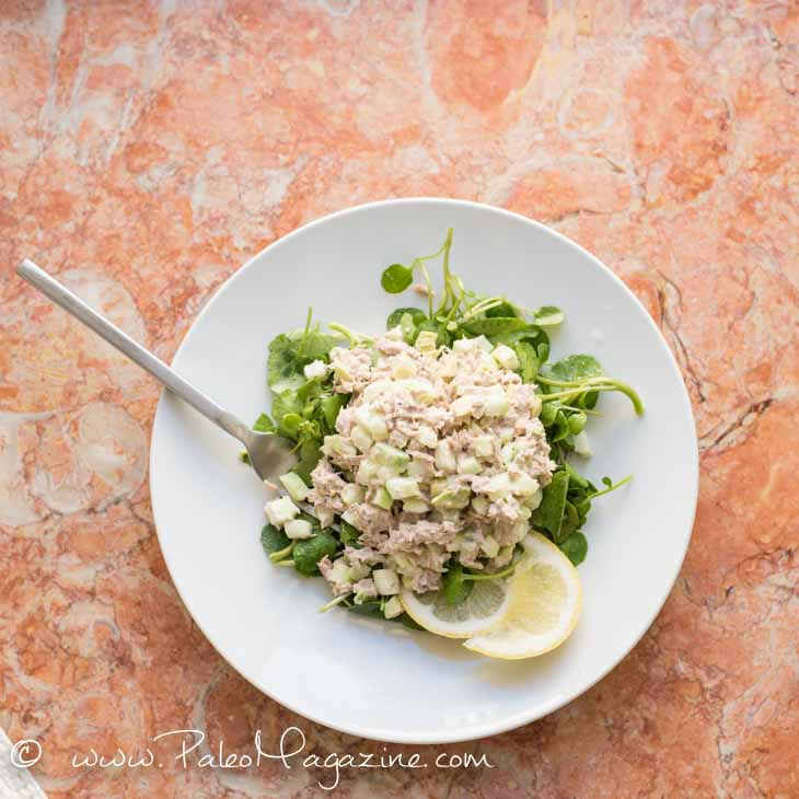 Lemon Black Pepper Tuna Salad Recipe [Keto, Paleo, AIP]
