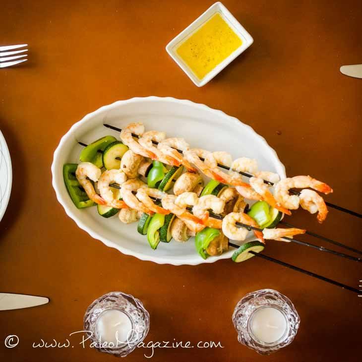 Lemon Garlic Baked Shrimp Recipe [Paleo, Keto]