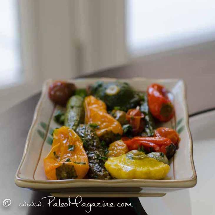 Easy Paleo Roasted Vegetables Recipe