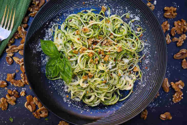 Roasted Garlic Walnut Pesto