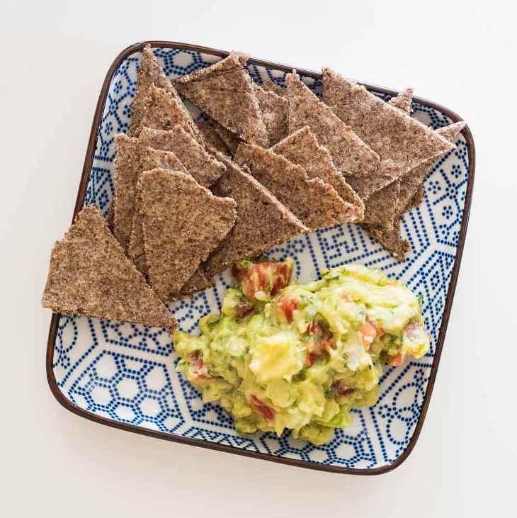 Basic Keto Guacamole #keto https://ketosummit.com/basic-keto-guacamole