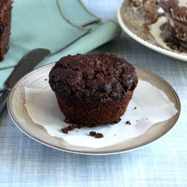Keto Breakfast Brownie Muffins
