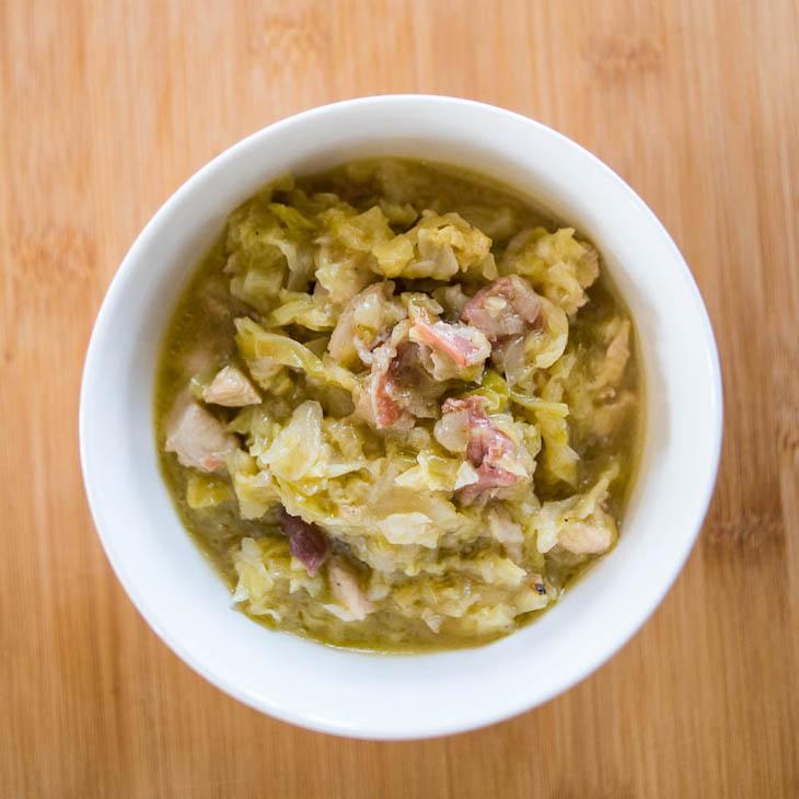Keto Chicken and Cabbage Stew Recipe #keto https://ketosummit.com/keto-chicken-cabbage-stew-recipe
