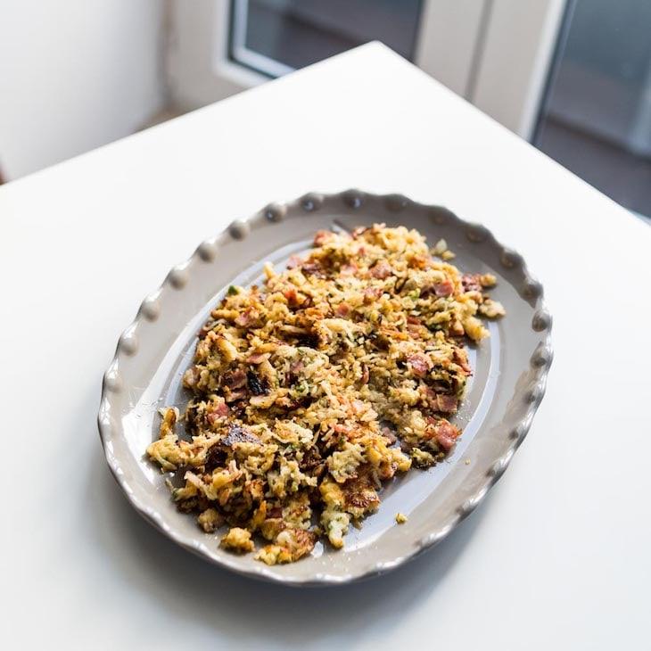 Keto Bacon Radish Hash Recipe #keto https://ketosummit.com/keto-radish-hash-recipe