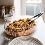 Keto Spaghetti Bolognese Bake #keto https://ketosummit.com/keto-spaghetti-bolognese-bake