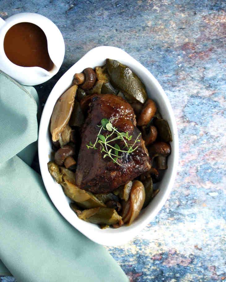 Keto Pressure Cooker Pot Roast Recipe #keto https://ketosummit.com/keto-pressure-cooker-pot-roast-recipe