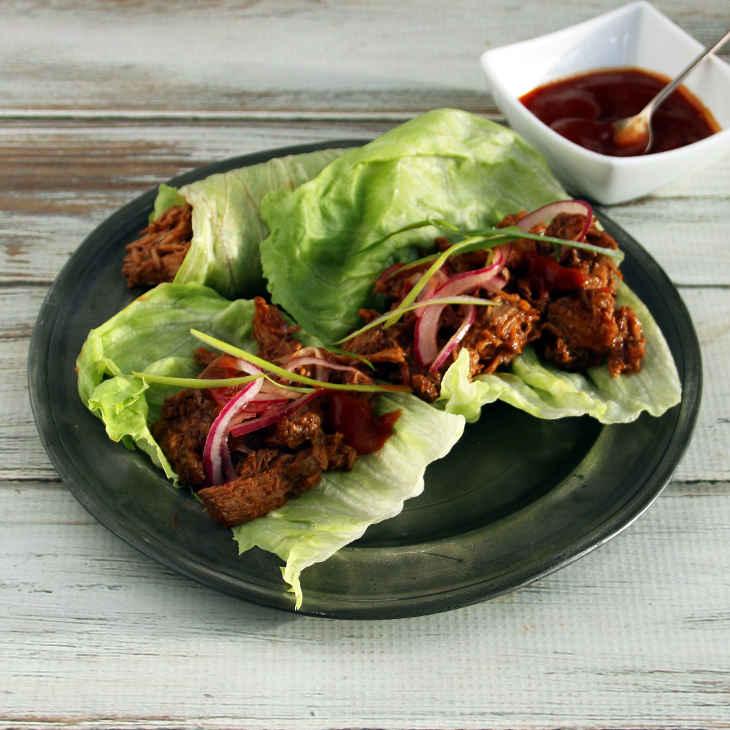 Keto Slow-Cooked Shredded Beef Recipe #keto https://ketosummit.com/keto-slow-cooked-shredded-beef-recipe