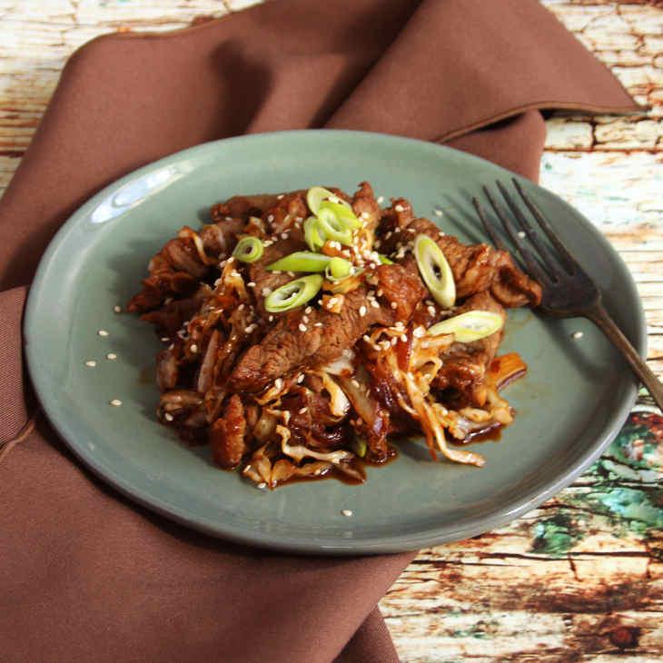 Keto Beef Bulgogi Recipe #keto https://ketosummit.com/keto-beef-bulgogi-recipe