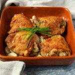 Keto Crockpot Garlic Chicken Recipe #keto https://ketosummit.com/keto-crockpot-garlic-chicken-recipe