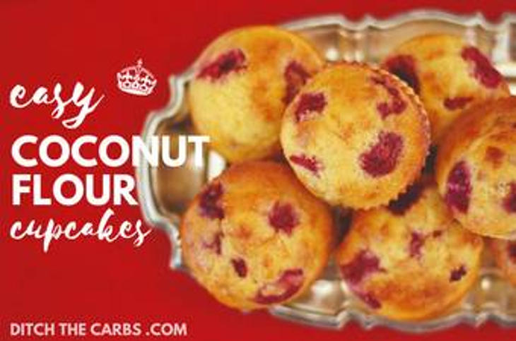 Easy Coconut Flour Cupcakes