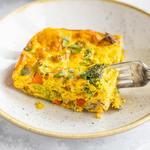 Keto Sunshine Breakfast Casserole - Square