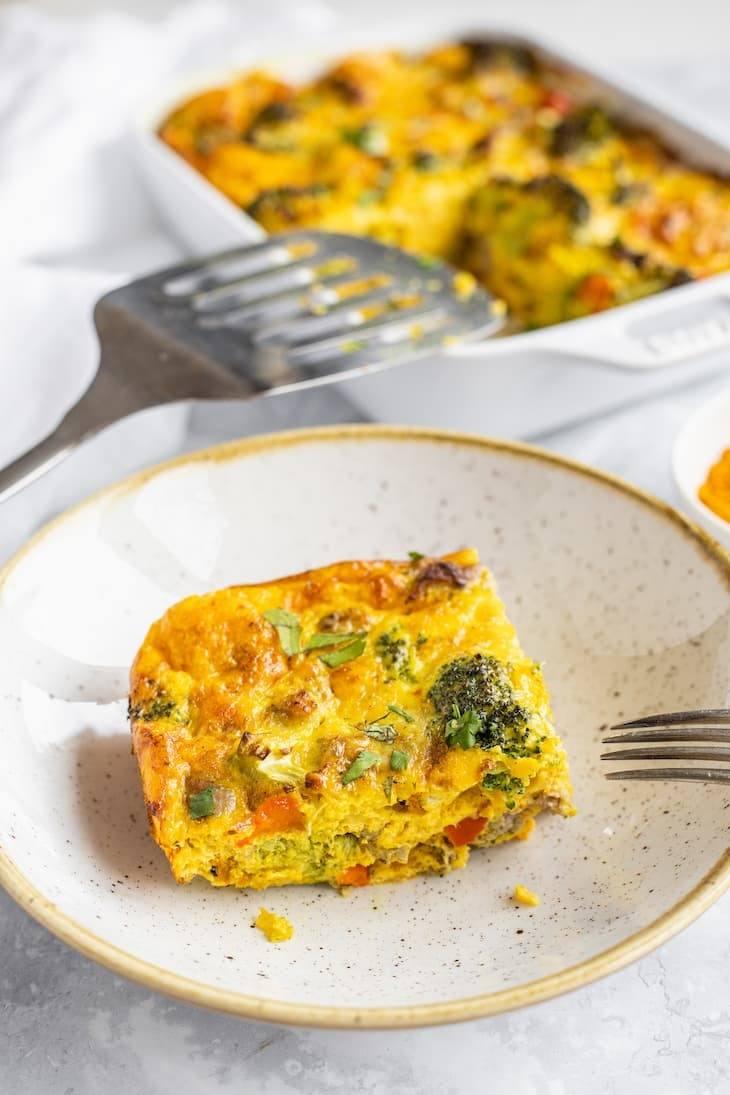 Keto Sunshine Breakfast Casserole