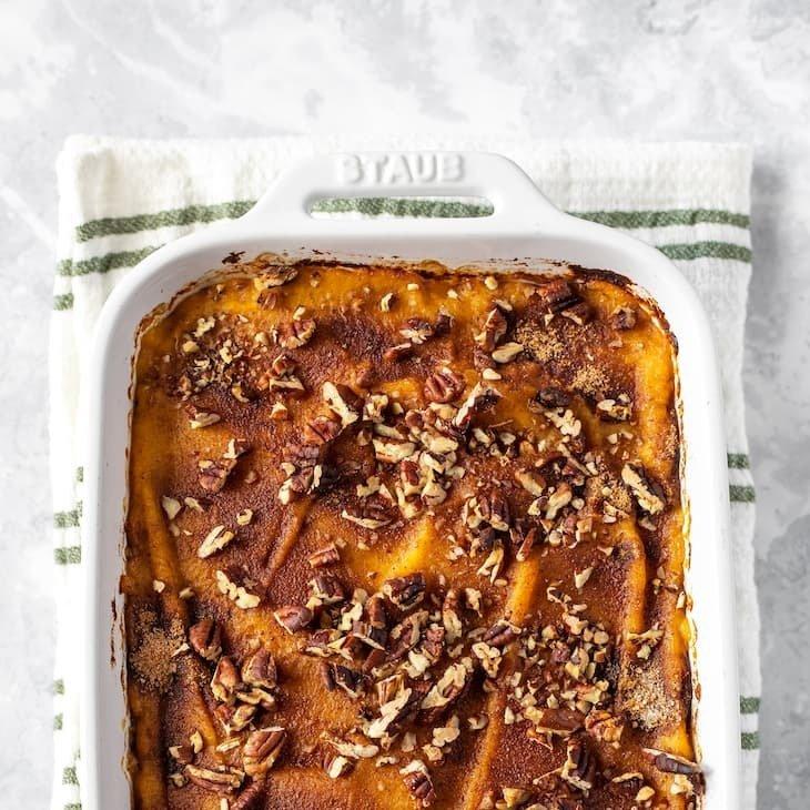 Keto Sweet Potato Casserole-square