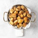 """Keto Cinnamon """"Sugar"""" Pretzel Bites Recipe #keto #recipe https://ketosummit.com/keto-cinnamon-sugar-pretzel-bites-recipe"""