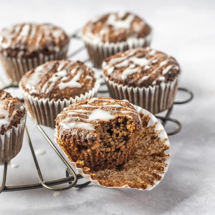 Keto Gingerbread Muffins Recipe #keto #recipe https://ketosummit.com/keto-gingerbread-muffins-recipe/